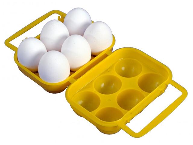 Coghlans Caja para huevo - para 6 huevos amarillo